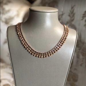 NWT Kendra Scott Oscar Rose Gold Choker Necklace